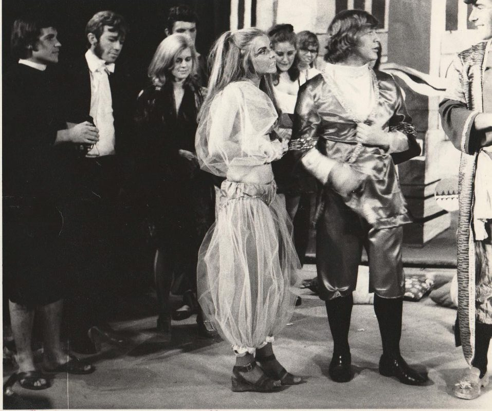 people in costume 1971