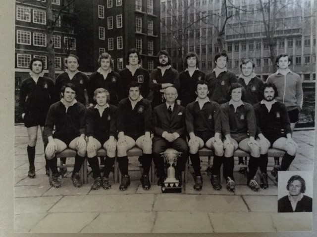 men's rugby team photo 1974
