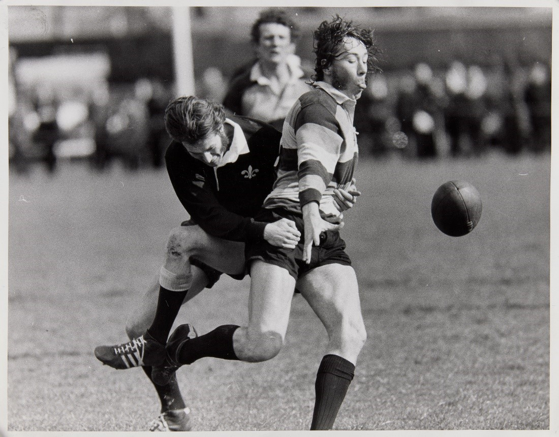rugby tackle 1974