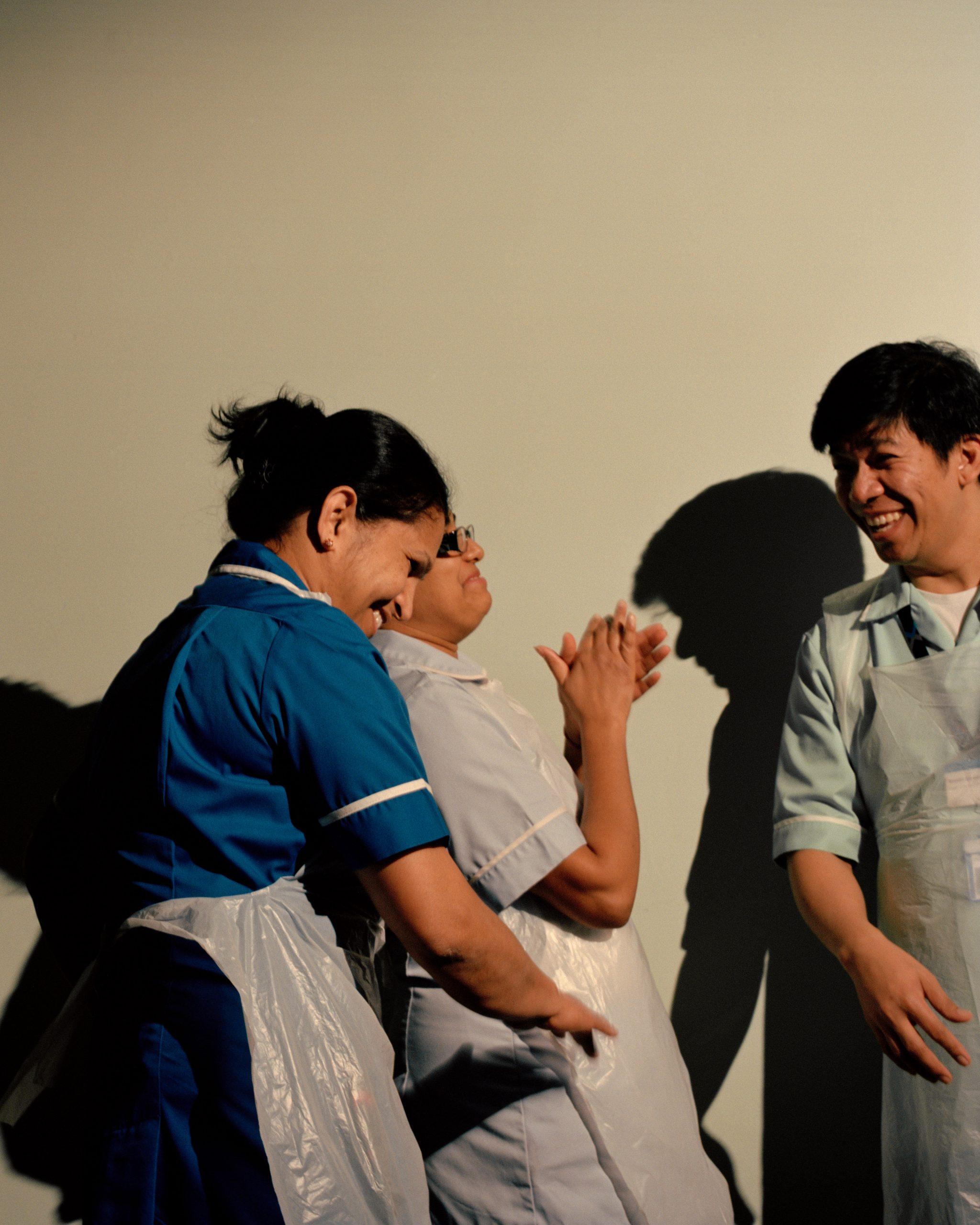 Lewis Khan, Theatre, Staff